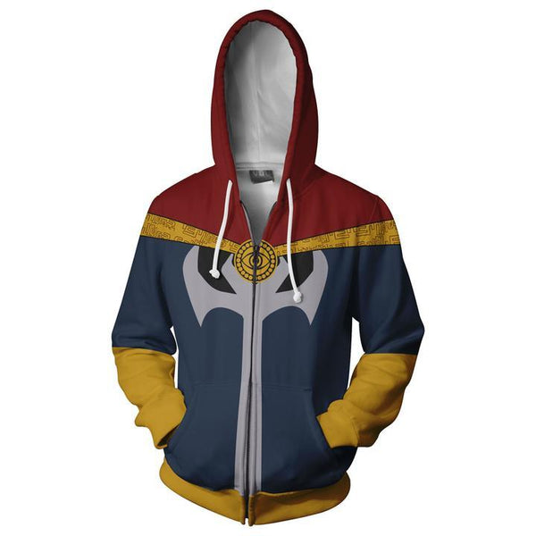 Doctor Strange Hoodies - Doctor Strange Cosplay Zip Up Hoodie