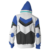 Voltron: Legendary Defender Hoodies - Paladin  Lance Zip Up Hoodie