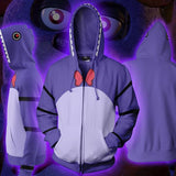 FNAF Hoodies - FNAF Season 1 Bonnie Cosplay Zip Up Hoodie