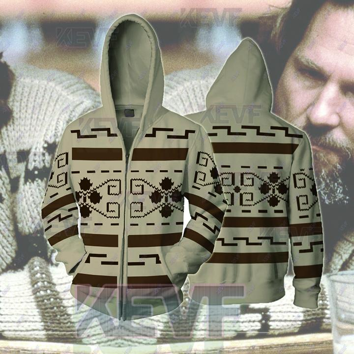 The Big Lebowski Hoodies - The Big Lebowski Cosplay Zip Up Hoodie