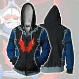 He-Man Hordak Hoodies - He-Man Hordak Cosplay Zip Up Hoodie