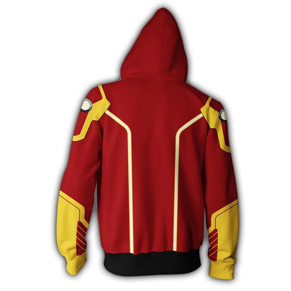 Firestorm Hoodies - Firestorm Cosplay Zip Up Hoodie