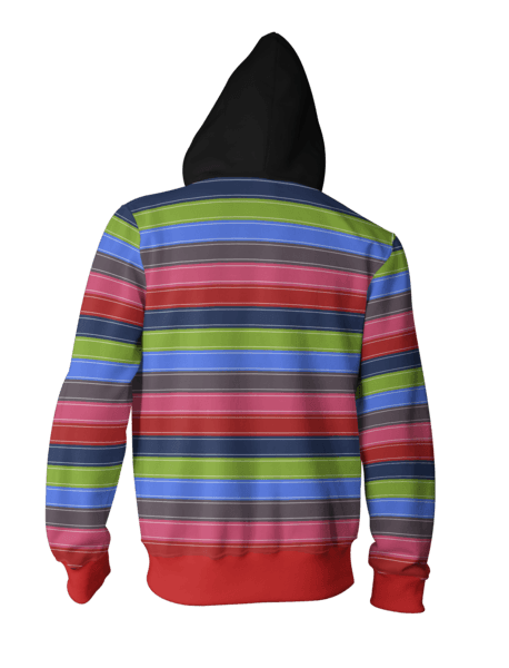Child's Play Hoodies - Chucky Zip Up Hoodie