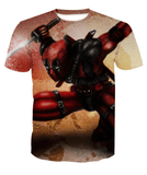 Deadpool Hoodies - Always In Action Weapon-X- Deadpool Zip Up Hoodie