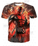 Deadpool Hoodies - Favorite Action Hero Deadpool Zip Up Hoodie