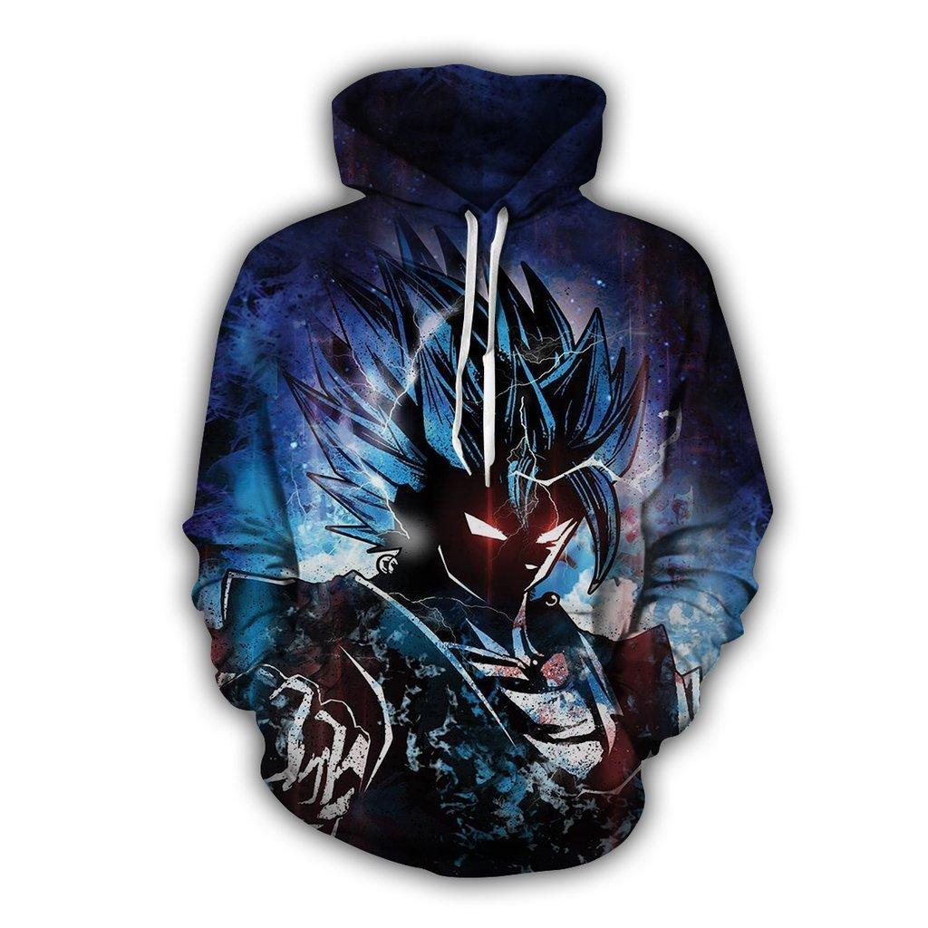 Dragon Ball Z Hoodies - VEGITO Pull Over Hoodies