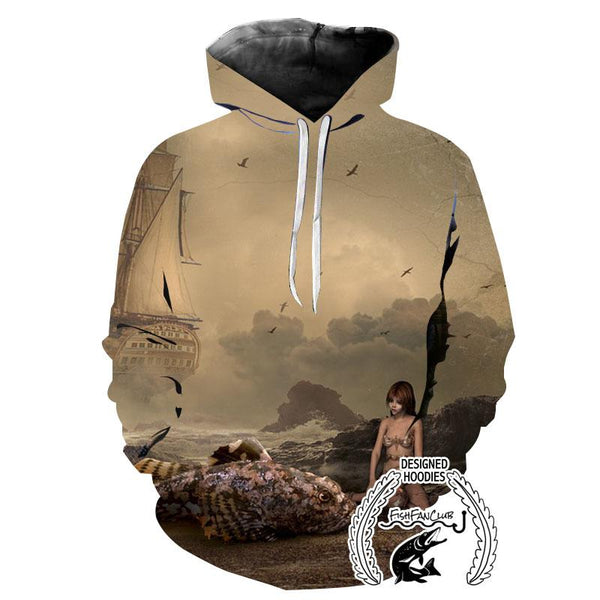 Fishing Hoodies - 3D Print Unisex Hoodie - Fish Fantsy
