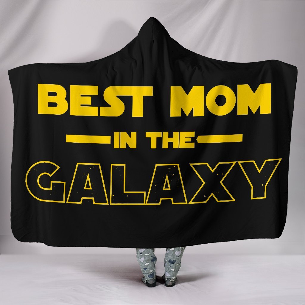 Best Mom Hooded Blanket