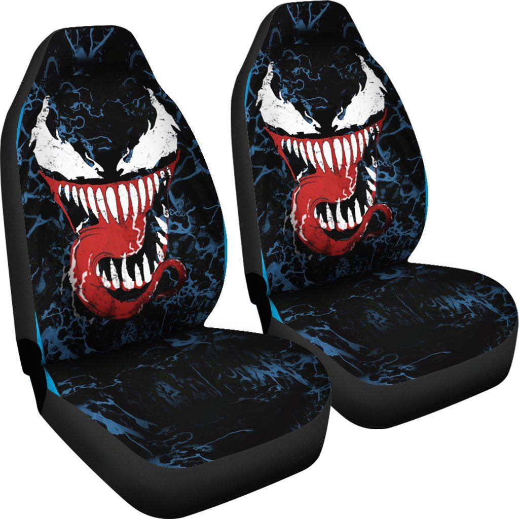 3D Car Seat Covers - Venom Car Seat Covers