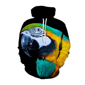 3D Hoodies All Over Print -  Pull Over Hoodies V4