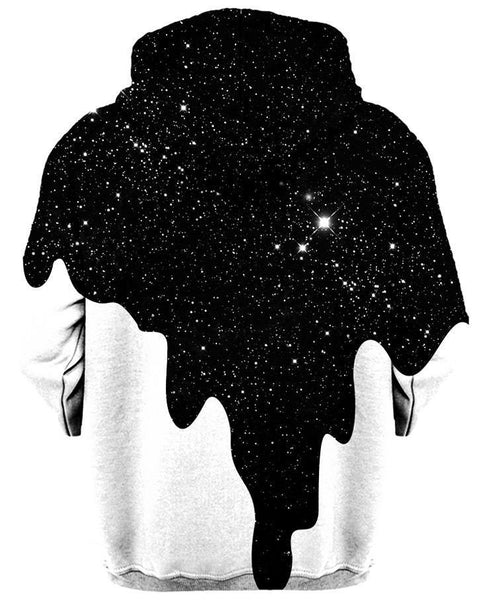 3D Hoodies All Over Print - Unisex Pull Over Hoodies - Painting In Space