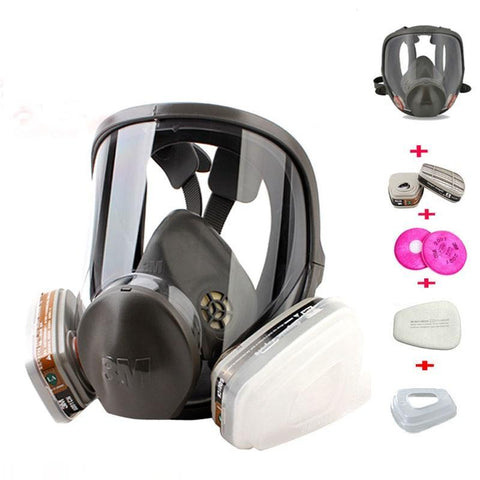 Full Face Respirator Set [3M 6800]