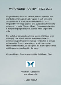 Wingword Poetry Prize 2018