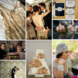 How to Pull Off the Great Gatsby-Inspired Wedding of Your Dreams