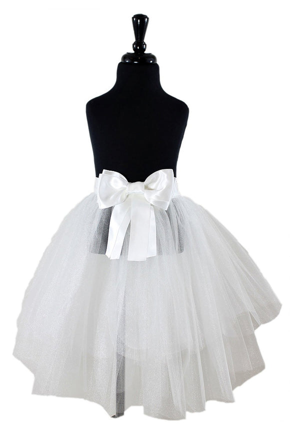 Bailey Flower Girl TuTu and Skirt - Elegant Bridal Designs
