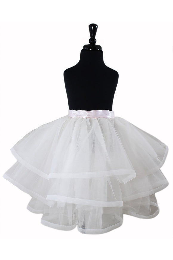 Melody Flower Girl TuTu and Skirt - Elegant Bridal Designs