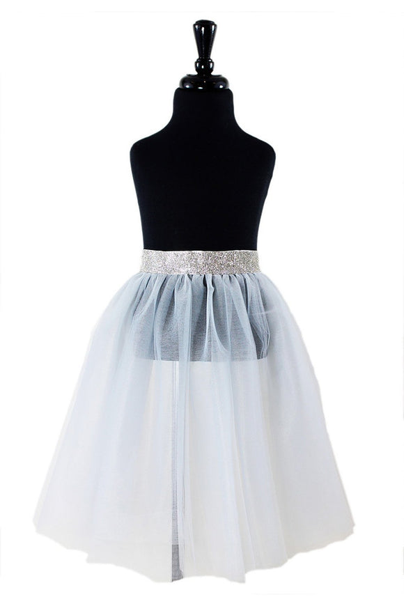 Riley Flower Girl TuTu and Skirt - Elegant Bridal Designs
