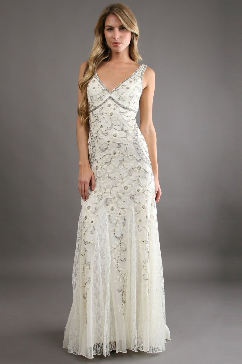 Sue wong n1118 gorgeous antique embroidered ivory wedding gown sue wong n1118 gorgeous antique embroidered ivory wedding gown elegant bridal designs junglespirit Images