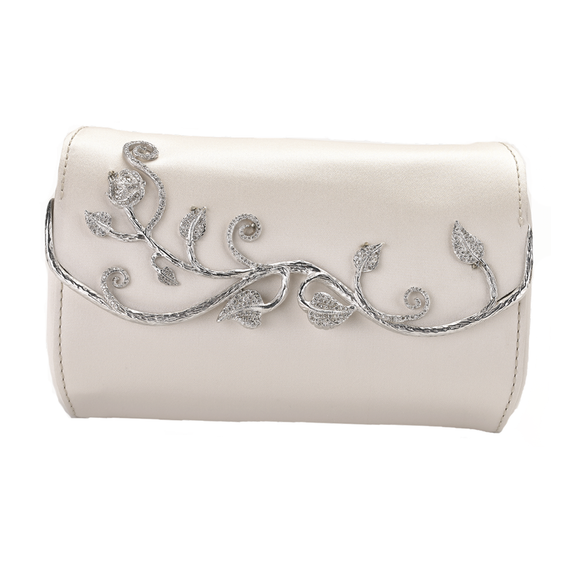 EVELYN *Limited Edition* Bridal Clutch - Elegant Bridal Designs