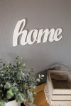 home sign - wood sign - wood signs - farmhouse decor - rustic home decor - gallery wall - gallery wall ideas