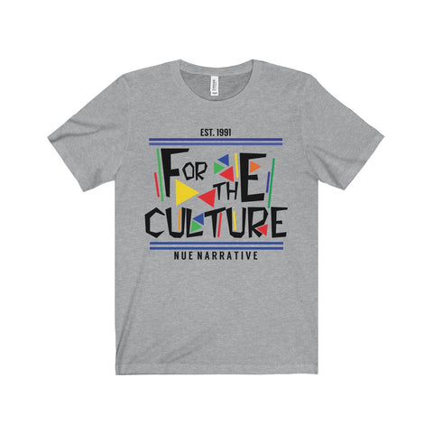 """For The Culture"" - T-Shirt(Black Font)"