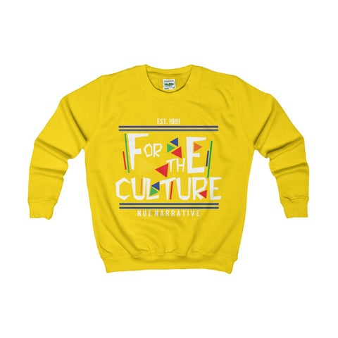 """For the Culture"" - Kids Sweatshirt"