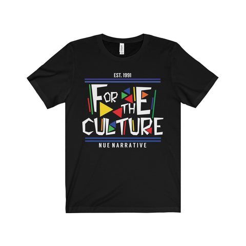 """For The Culture"" - T-Shirt(White Font)"