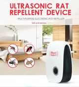 Ultrasonic Pest Repeller - Get Rid of Bugs, Rodents Electronically - No Need for Traps!