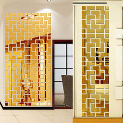3D Mirror Wall Sticker