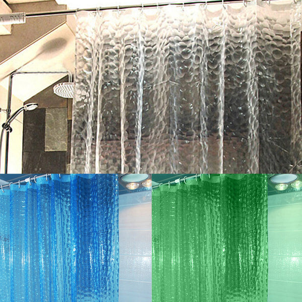 3D Bathroom Shower Curtain