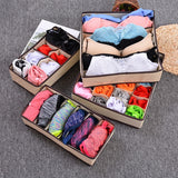 Underwear Bra Organizer Storage Box