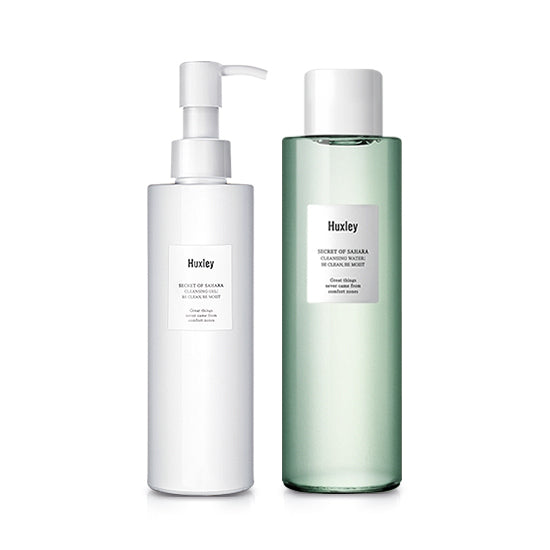 Cleansing Duo Water & Gel | Huxley