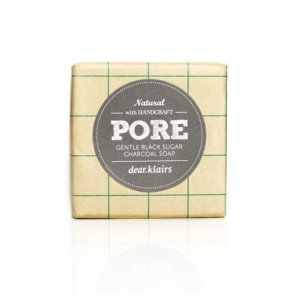Pore Gentle Black Sugar Charcoal Soap