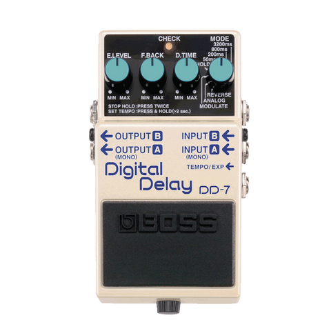 Boss DD-7 Guitar Pedal