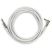 White Straight to Straight High-Quality Instrument Cable