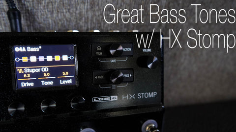 Bass HX Stomp Preset