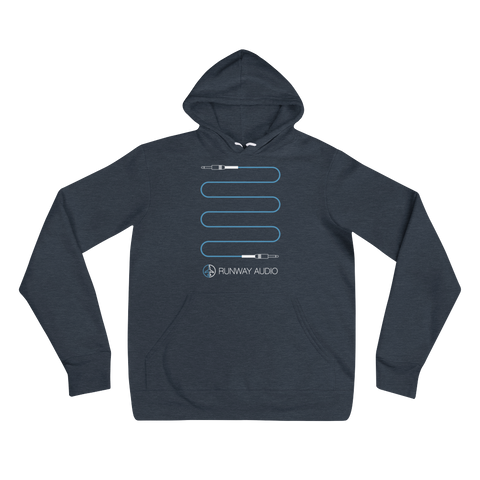 Blue High-Quality Instrument Cable Hoodie