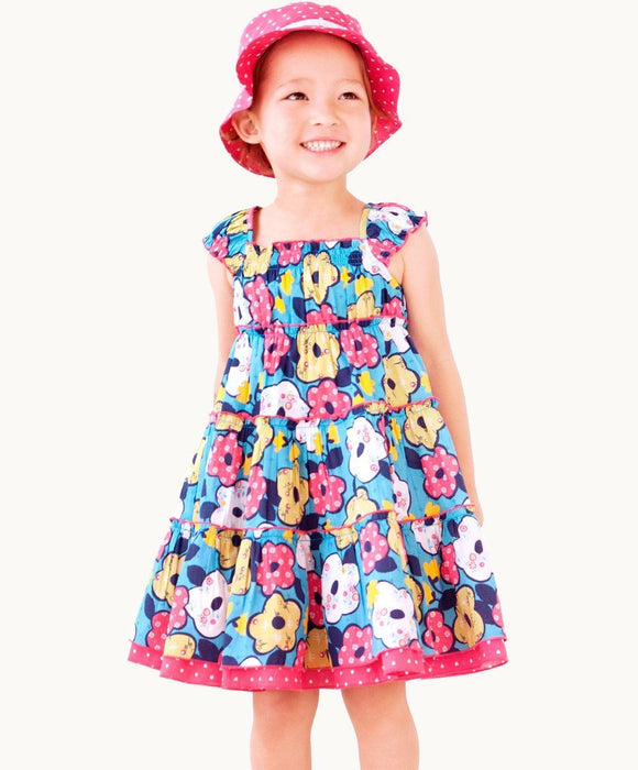 Bo Peep Gathered Dress - Visible.Clothing