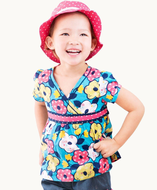 Colourful Bo Peep Summer Top - Visible.Clothing