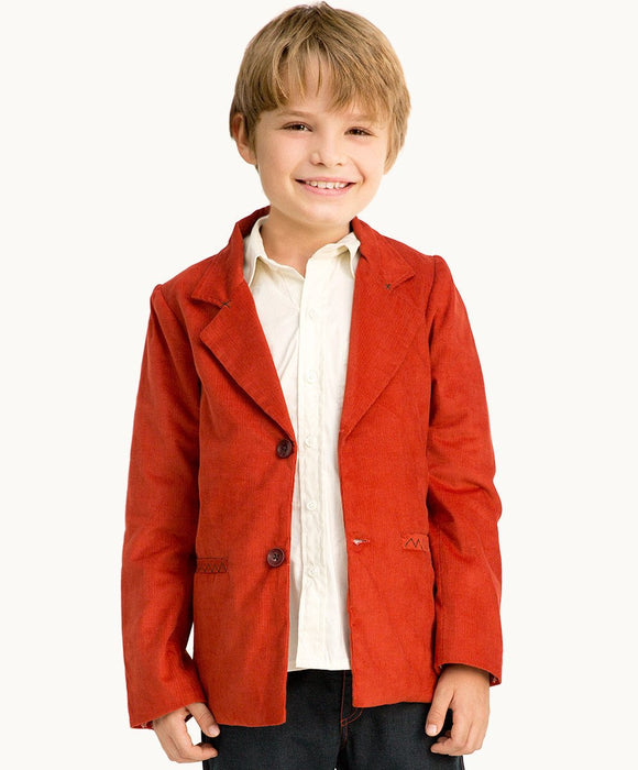 Rust Corduroy Coat