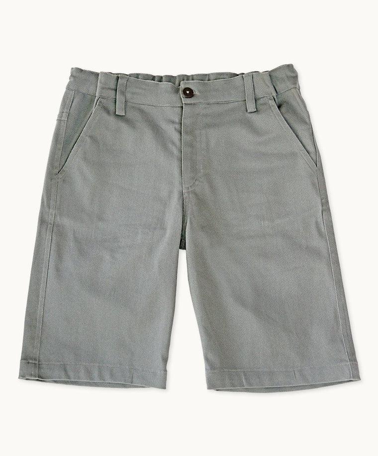 Grey Uniform Shorts