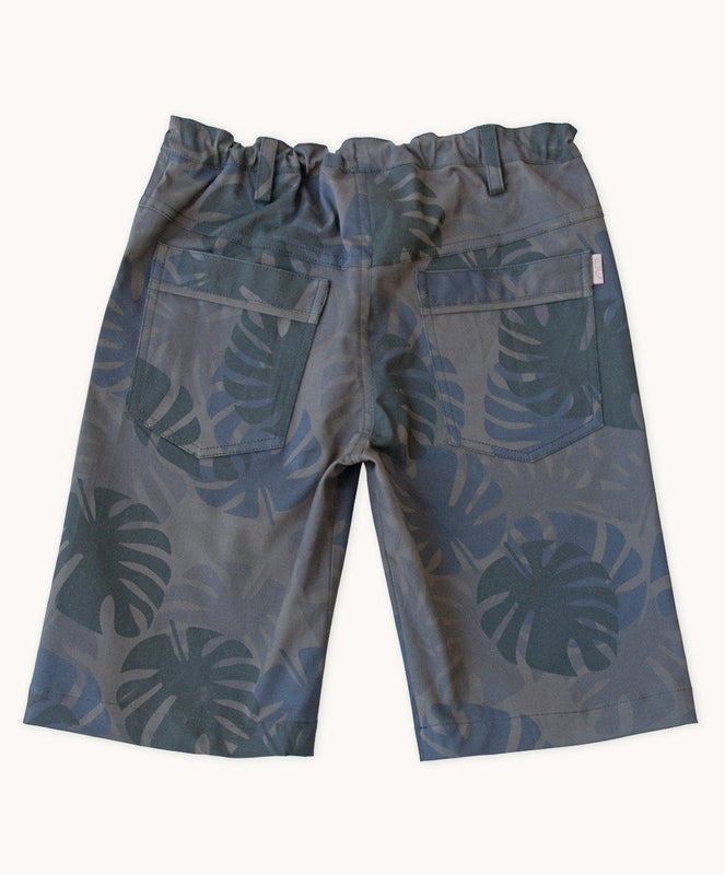 Night Jungle Twill Shorts - Visible.Clothing