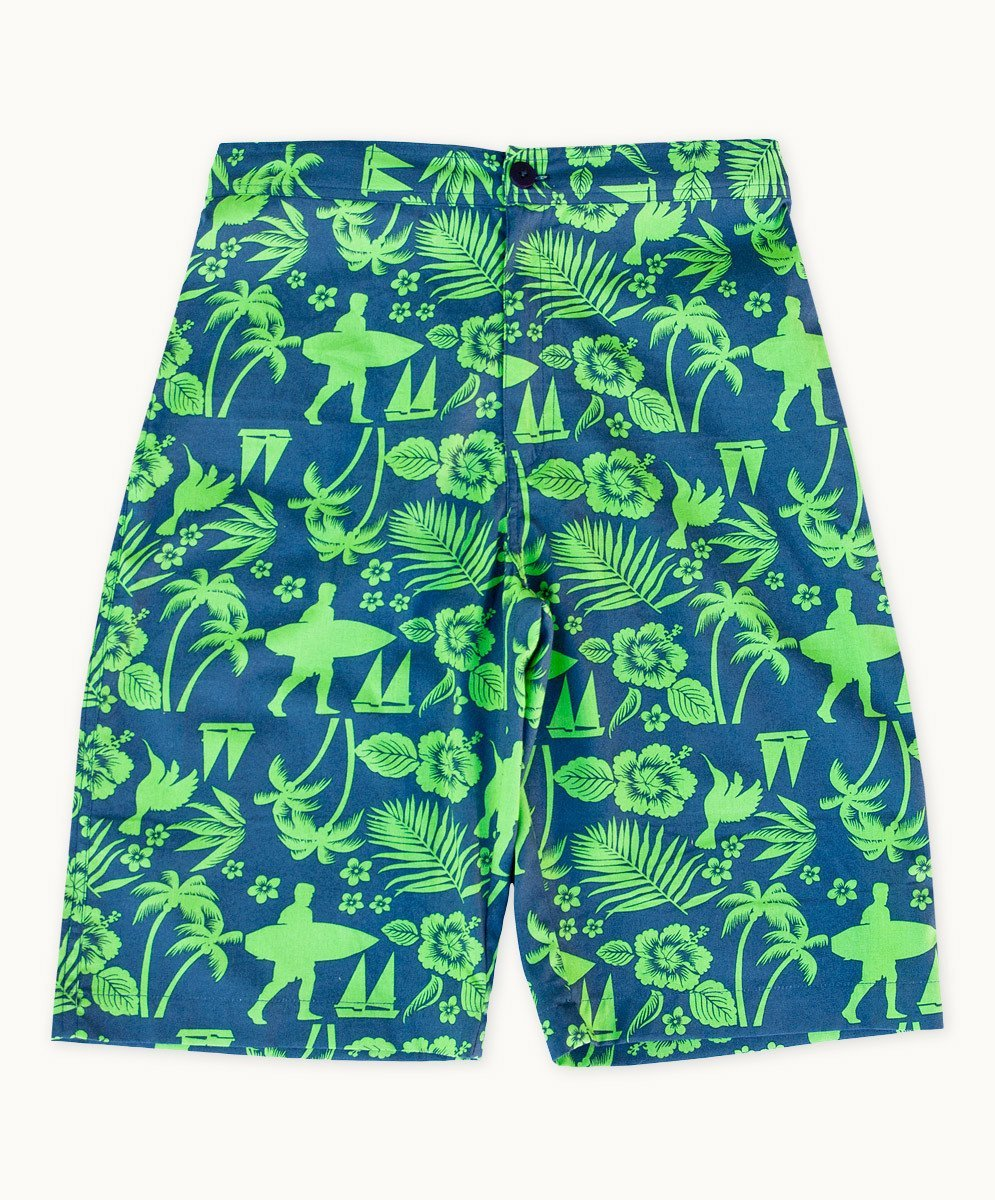 Palm Beach Cotton Shorts - Visible.Clothing