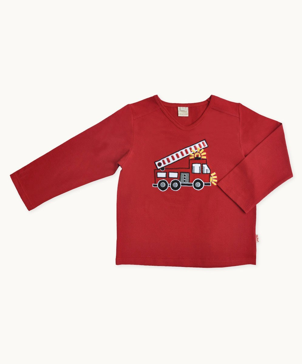 Fire Engine Tee - Visible.Clothing