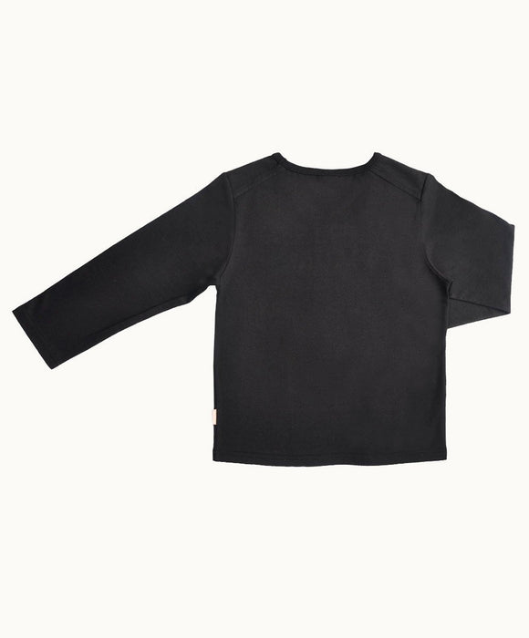 Black Named Cotton T-Shirt - Visible.Clothing