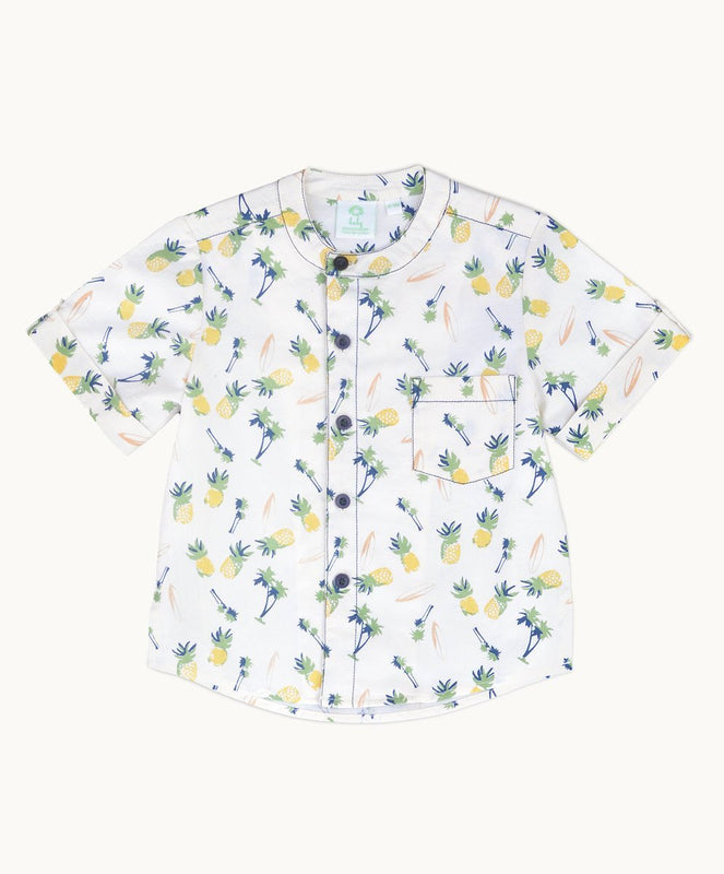 Tropicanna Grandad Shirt - Eternal Creation