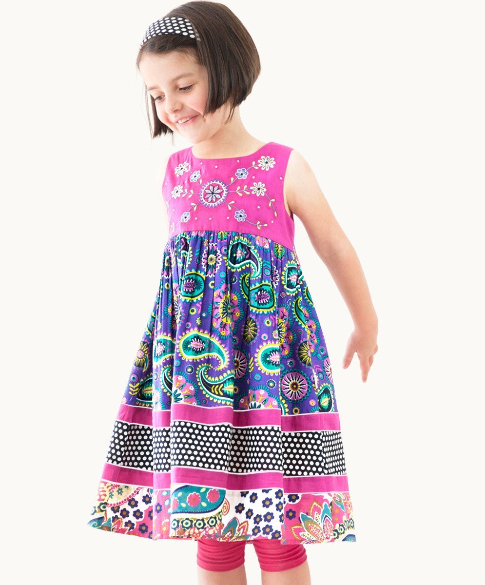 Ashara Embroidered Sundress - Visible.Clothing