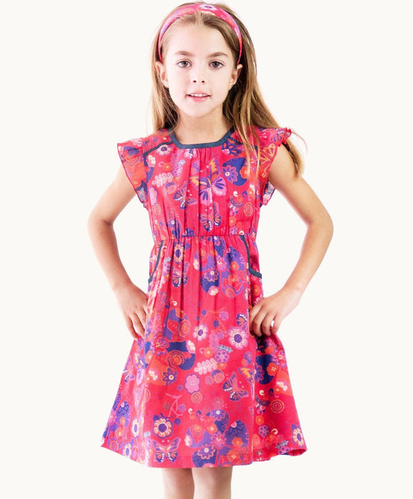 Stylish Olivia Butterfly Dress - Visible.Clothing