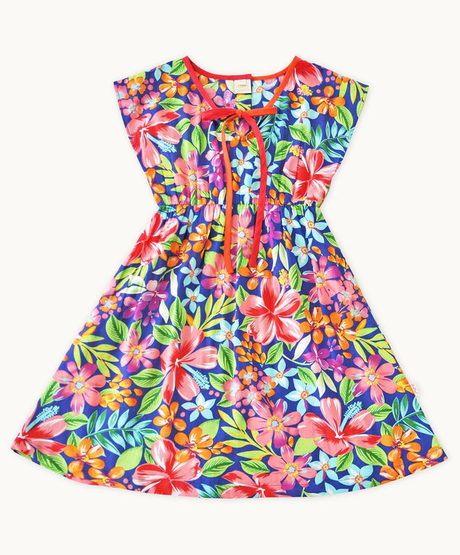 Madagascar Cotton Summer Dress - Visible.Clothing