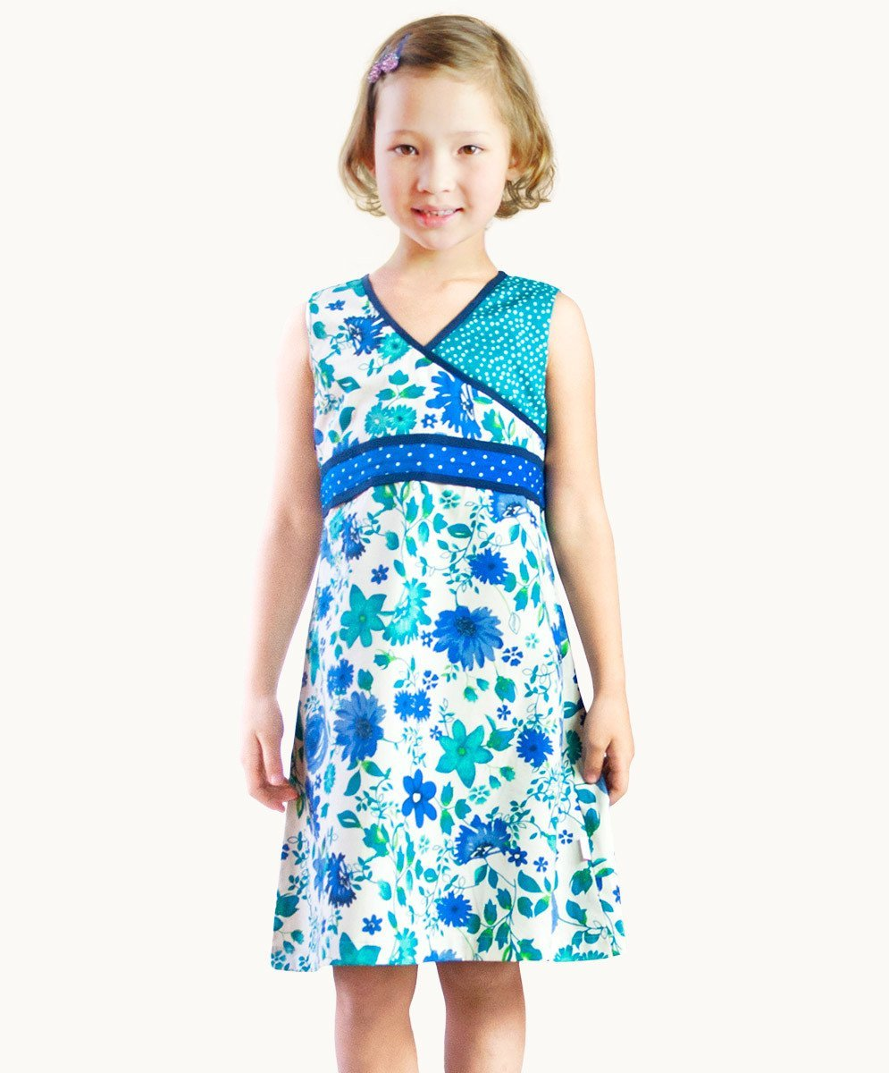 Gorgeous Agean Blue Summer Dress - Visible.Clothing